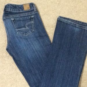 🦅 American Eagle stretch jeans, 4 Long